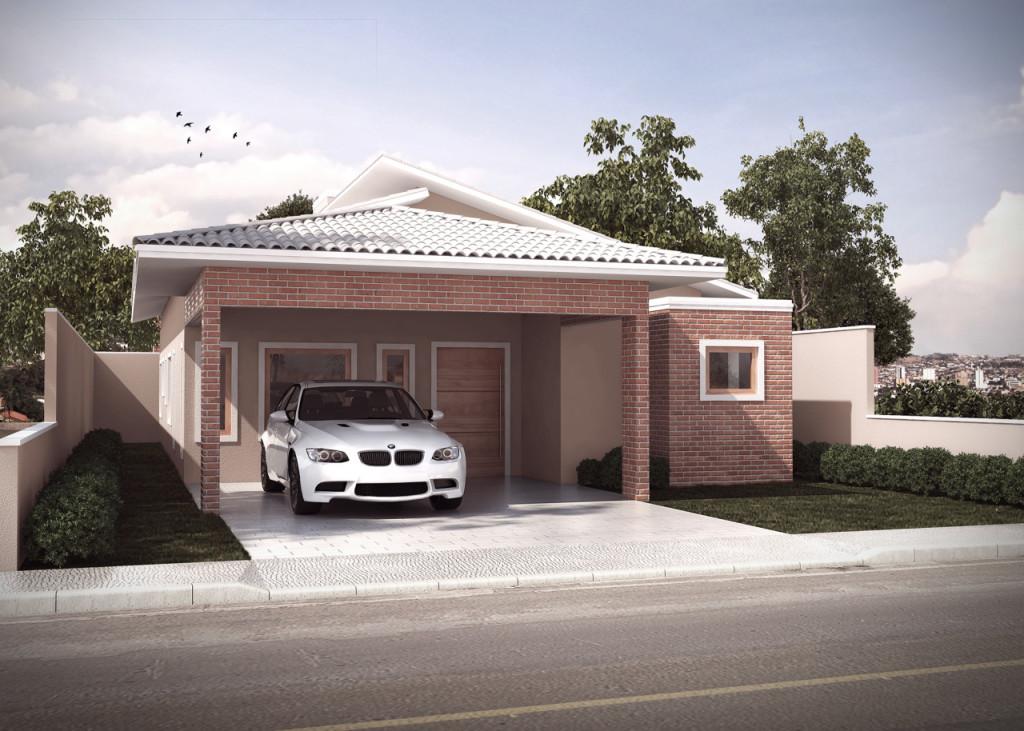Fachada residencial – Leandro Teixeira 3D