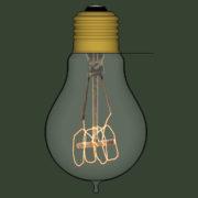 Lampada Vintage 03 - SketchUp Brasil_2d