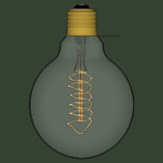 Lampada Vintage 06 - SketchUp Brasil_2d
