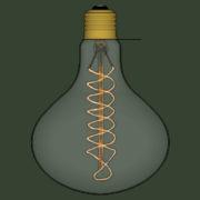 Lampada Vintage 07 - SketchUp Brasil_2d