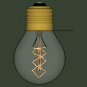 Lampada Vintage 08 - SketchUp Brasil_2d