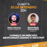 Modelagem de Blocos para SketchUp – ARQSTUDIO3D e SketchUp Brasil