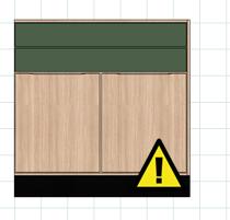 ícone de erro na janela do LayOut