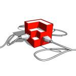 Logotipo do Grupo Renderizadores em geral